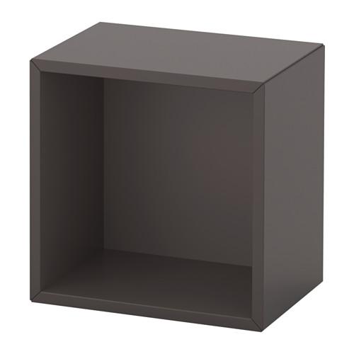 EKET - unit rak dinding, abu-abu tua, 35x25x35 cm   IKEA Indonesia - PE614318_S4