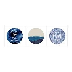PJÄTTERYD - Gambar, bulan biru