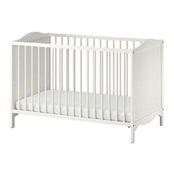 SMÅGÖRA - Ranjang bayi, putih