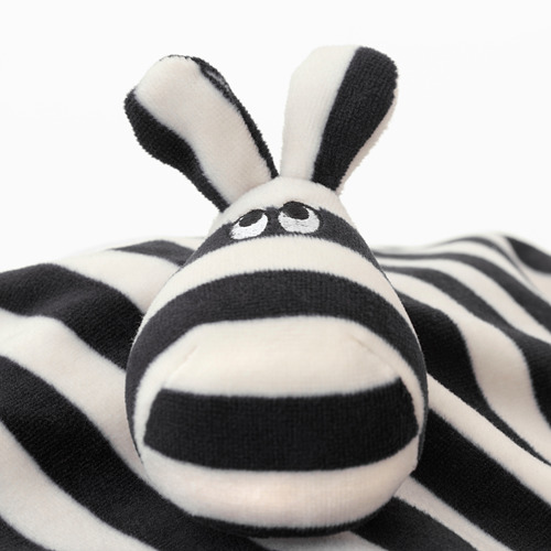 KLAPPA comfort blanket with soft toy