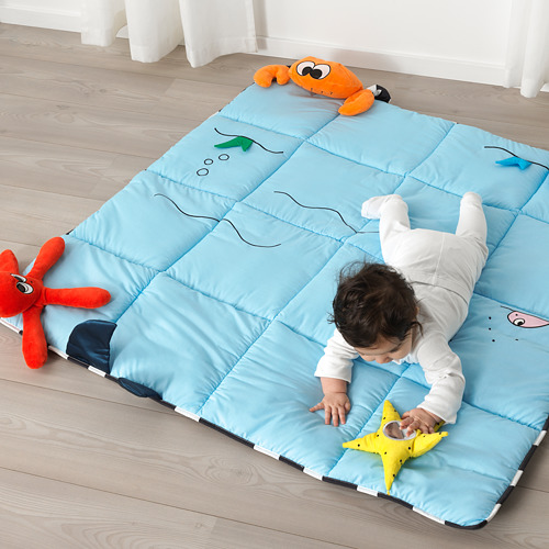 KLAPPA - play mat, 114x114 cm | IKEA Indonesia - PE682682_S4