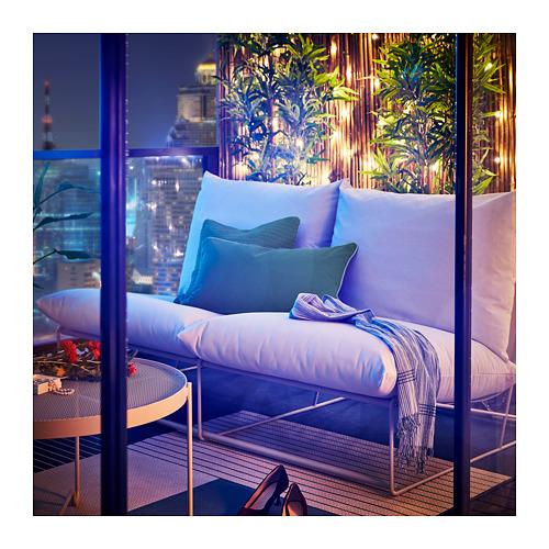 HAVSTEN sofa 2 dudukan, dalam/luar ruang