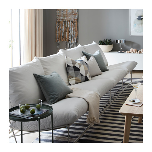 HAVSTEN sofa 4 dudukan, dalam/luar ruang