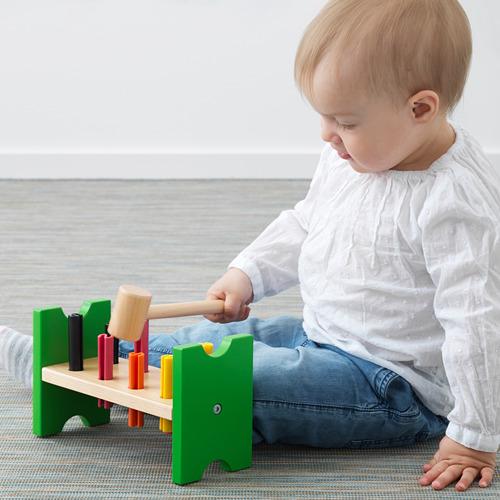 MULA blok palu mainan