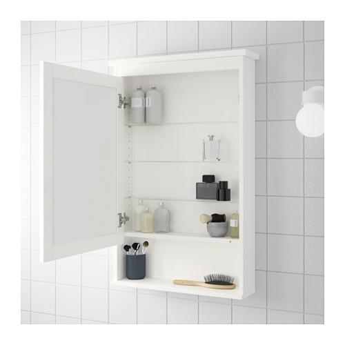 HEMNES kabinet cermin 1 pintu