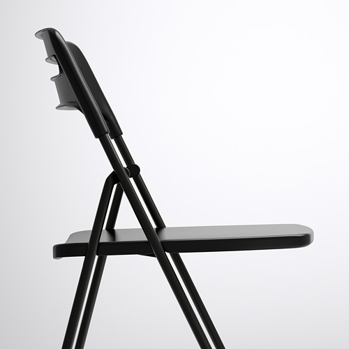 NISSE - kursi lipat, hitam | IKEA Indonesia - PE591029_S4