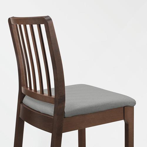 EKEDALEN kursi bar dengan sandaran