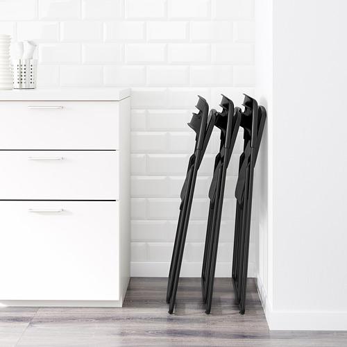 NISSE - kursi lipat, hitam | IKEA Indonesia - PE598508_S4