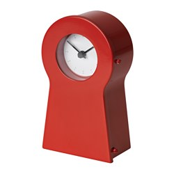IKEA PS 1995 - Clock, red