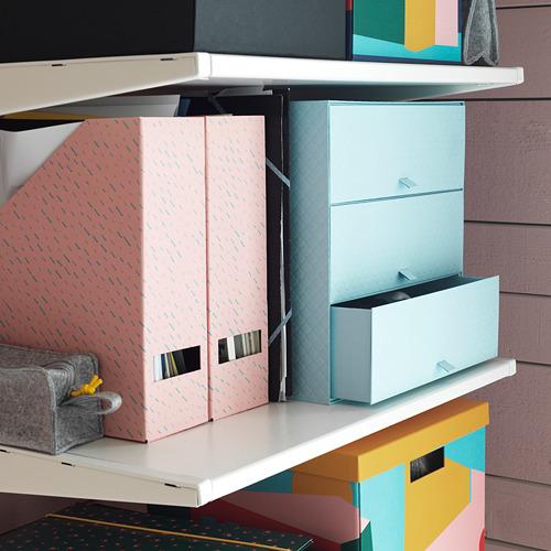 PALLRA lemari mini dengan 3 laci