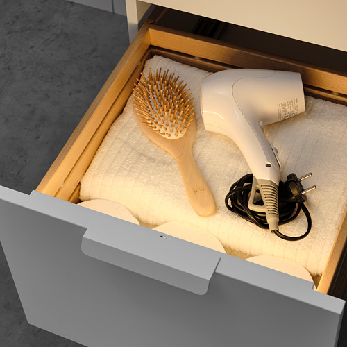 STÖTTA - lampu strip LED kabinet dg sensor, dioperasikan dengan baterai putih, 32 cm | IKEA Indonesia - PE812138_S4