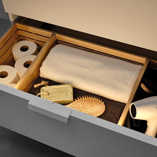 STÖTTA - lampu strip LED kabinet dg sensor, dioperasikan dengan baterai putih, 72 cm | IKEA Indonesia - PE812140_S4