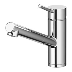 YTTRAN - Kitchen mixer tap w pull-out spout, chrome-plated
