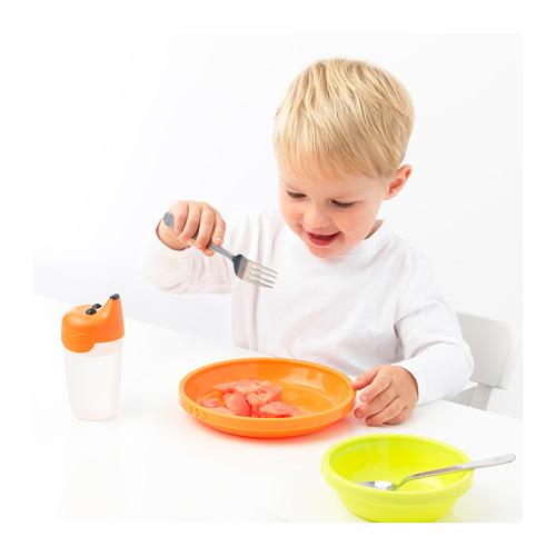 FABLER peralatan makan, set isi 3