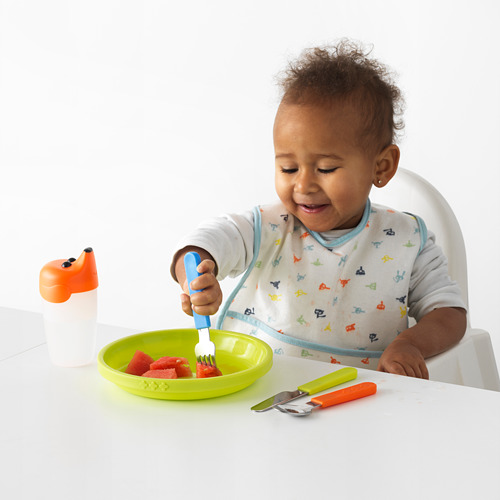 SMASKA peralatan makan, set isi 3