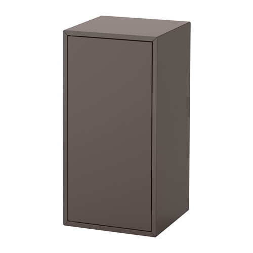 EKET kabinet dengan pintu dan 1 rak