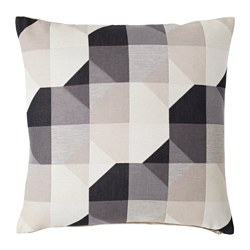SVARTHÖ - Cushion cover, beige