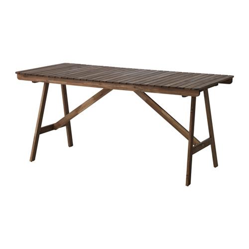 FALHOLMEN meja, luar ruang