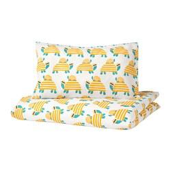RÖRANDE - Sarung quilt/bantal u ranjang bayi, penyu kuning