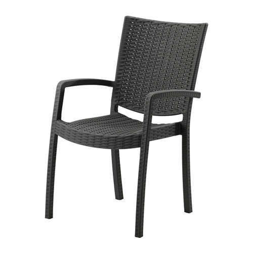 INNAMO chair with armrests, outdoor