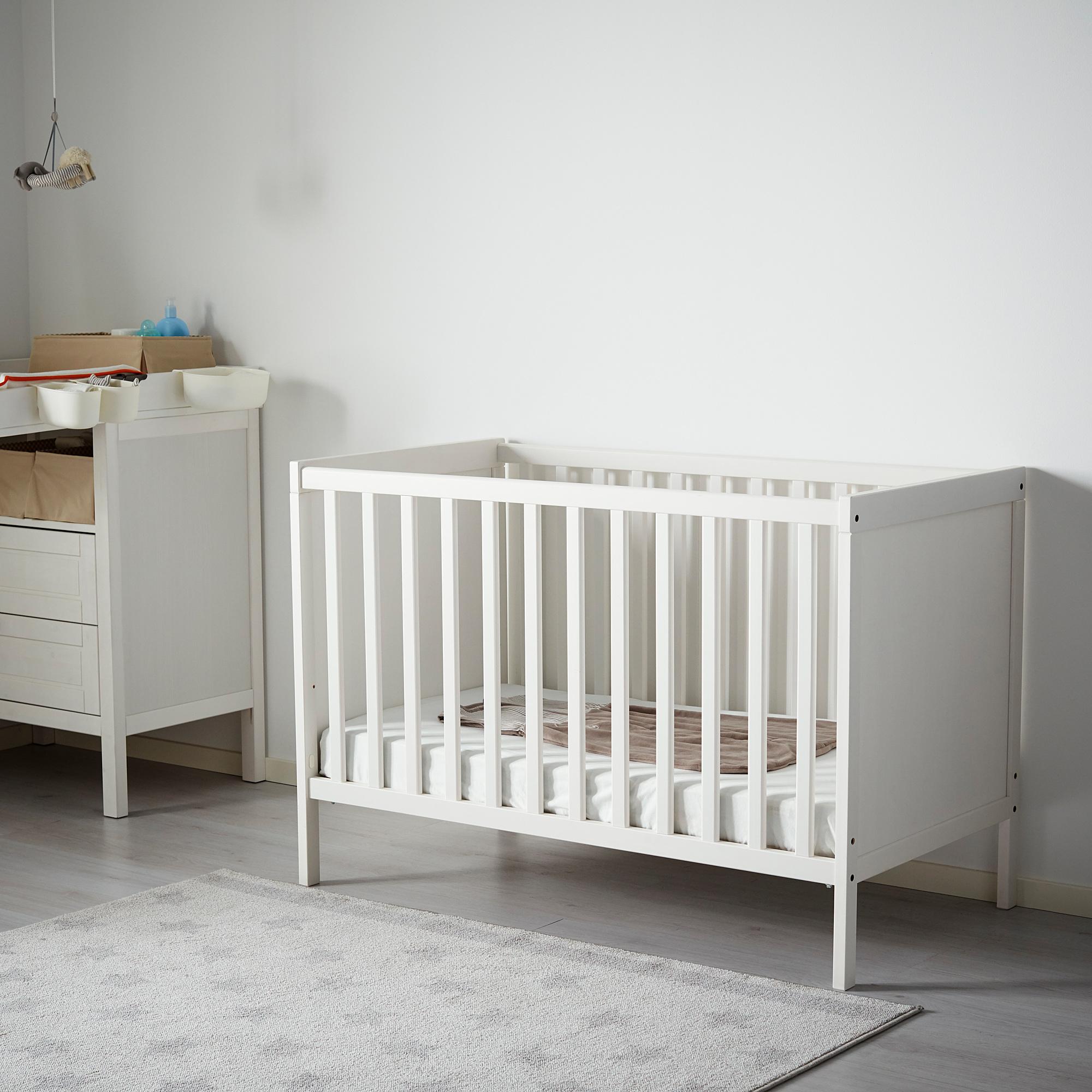 Sundvik Ranjang Bayi Putih Ikea Indonesia