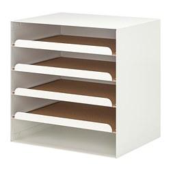 KVISSLE - Letter tray, white