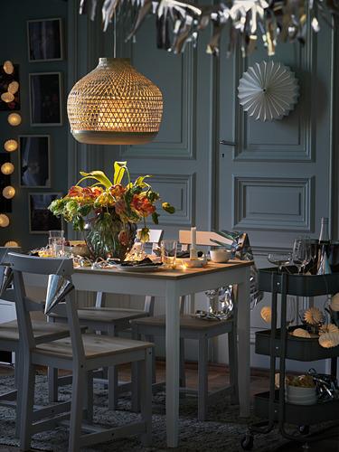 MISTERHULT - lampu gantung, bambu/buatan tangan, 45 cm | IKEA Indonesia - PH174130_S4