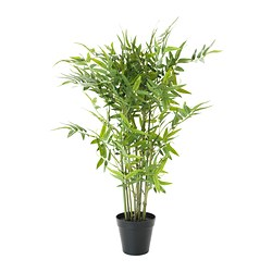 FEJKA - Artificial potted plant, bamboo