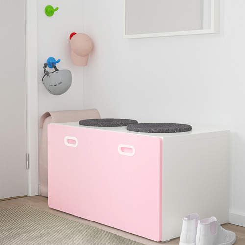 STUVA/FRITIDS bench with toy storage