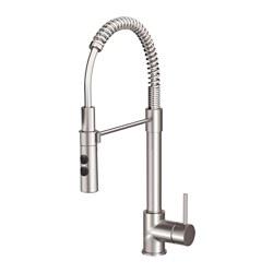 VIMMERN - Kitchen mixer tap/handspray, stainless steel colour