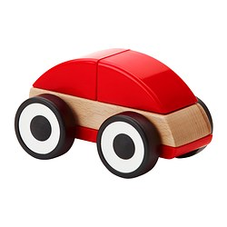 LILLABO - Toy car, red