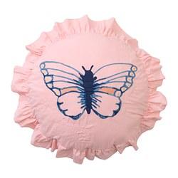 SÅNGLÄRKA - Cushion, butterfly patterned
