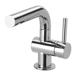 SVENSKÄR - Wash-basin mixer tap with strainer, chrome-plated