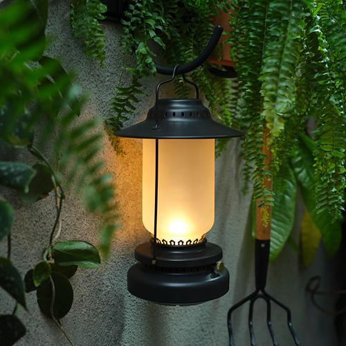 STORHAGA - Lampu meja LED, dapat diredupkan luar ruang/hitam, 35 cm | IKEA Indonesia - PH169738_S4