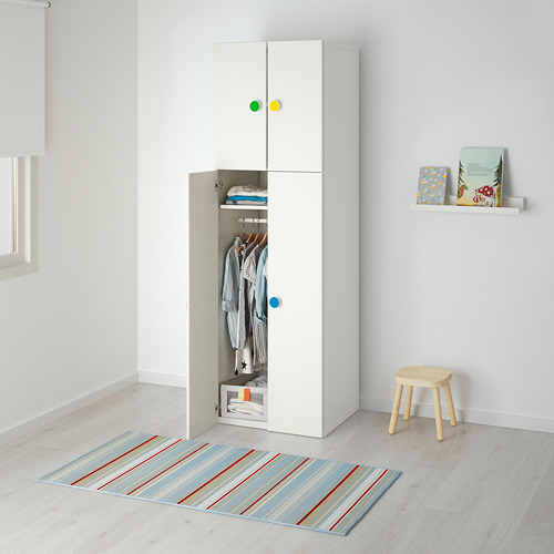 STUVA/FÖLJA lemari pakaian 4 pintu
