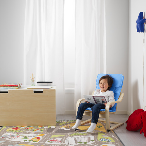 POÄNG kursi berlengan anak