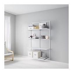 ALGOT - Rangka untuk dinding/rak, putih