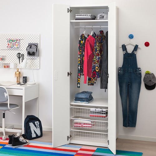 STUVA/FRITIDS lemari pakaian