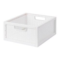 SKYFFEL - Keranjang, plastik putih