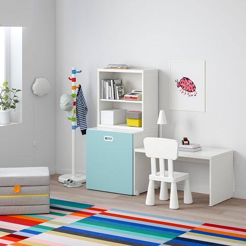 FRITIDS/STUVA meja dengan penyimpanan mainan