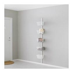 ALGOT - Rangka untuk dinding/keranjang, putih