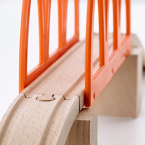 LILLABO jembatan kereta api, set isi 5