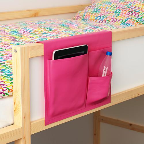 STICKAT - bed pocket, pink, 39x30 cm   IKEA Indonesia - PE426132_S4