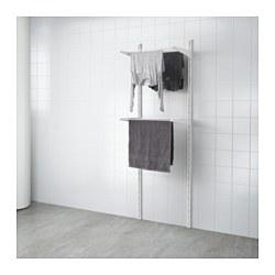ALGOT - Rangka untuk dinding/rak pengering, putih