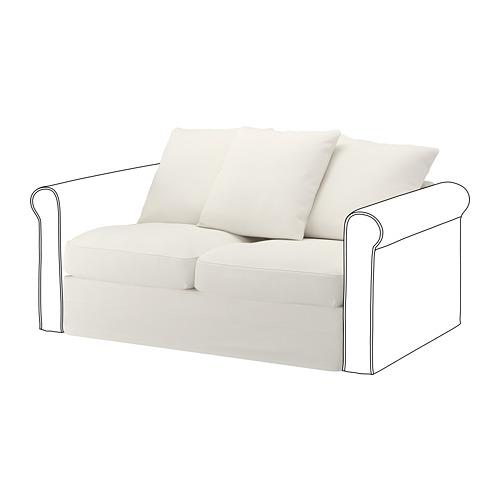 GRÖNLID - sarung untuk bagian 2 dudukan, Inseros putih   IKEA Indonesia - PE668609_S4