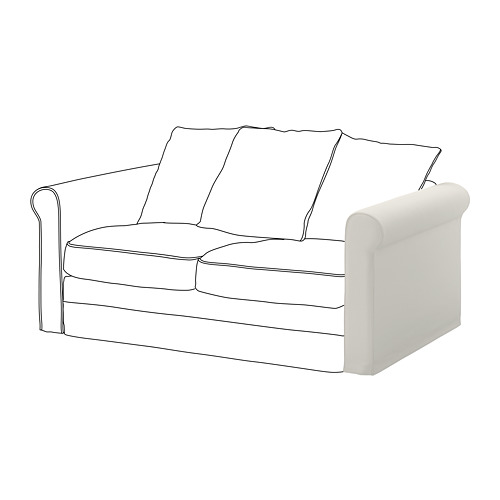 GRÖNLID - sarung untuk sandaran lengan, Inseros putih   IKEA Indonesia - PE668614_S4