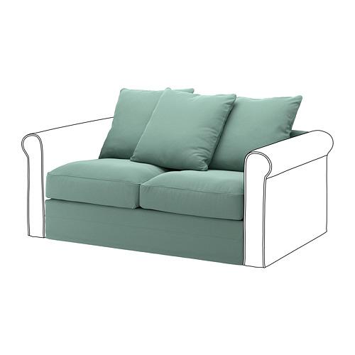 GRÖNLID - sarung untuk bagian 2 dudukan, Ljungen hijau muda   IKEA Indonesia - PE668623_S4