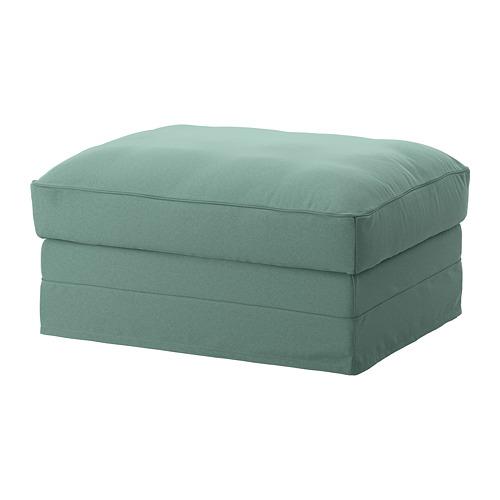 GRÖNLID - sarung u bangku kaki dg penyimpanan, Ljungen hijau muda   IKEA Indonesia - PE668625_S4