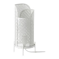 NOLLPUNKT - Table lamp, white, 34 cm