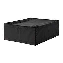 SKUBB - Storage case, black